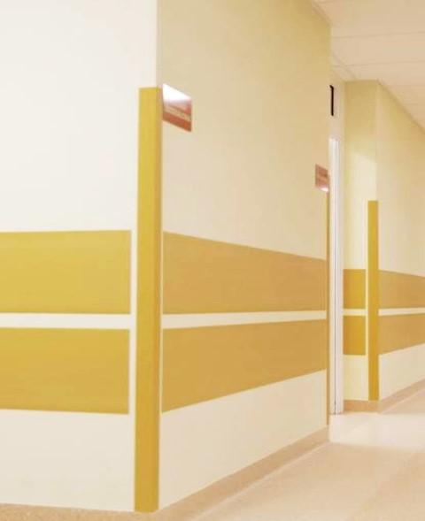 Lambril, Placas de vinil, Proteção de parede, CWG1004, Proteções antibacterianas, Proteções ignífugas, Placas contra impactos, rodacadeiras, proteção de esquinas