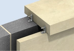 Fachadas, fixação para fachadas, suportes e apoios para fachadas pedra, fachadas ventiladas