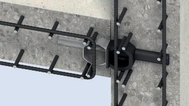 Passadores de esforço transverso, conectores de esforço transversos, DSD, DSDQ, Transferência de cargas,